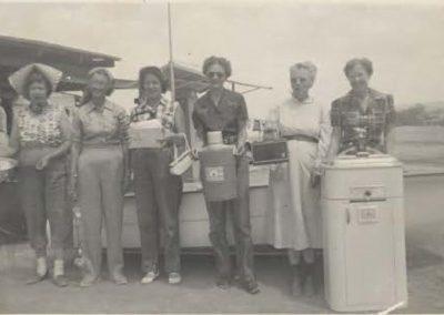 Yuma Womens Reel and Rifle Club members